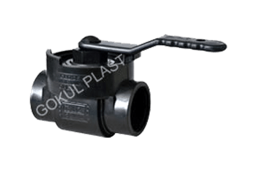 PP Single Piece Ball Valve in Ahmedabad
